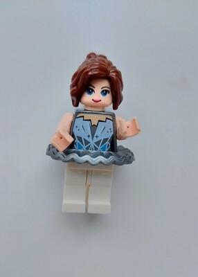 Minifigure Soap - Woman in Silver Dress