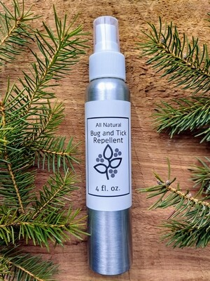 Bug and Tick Repellent - All Natural