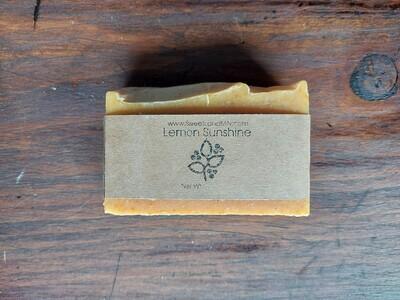 Lemon Sunshine Goat Milk Soap
