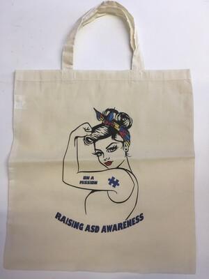 ASD Awareness Tote Bag