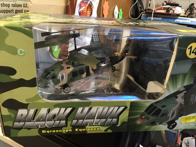 Black Hawk Apache RC Helicopter