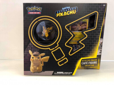 Detective Pikachu Cafe Figure Collection