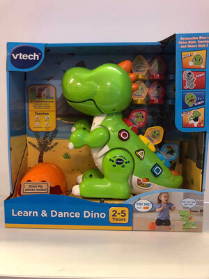 VTech Learn & Dance Dino Green