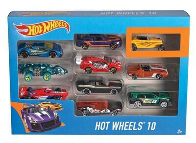 Hot Wheels 10 Car Gift Pack