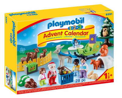 123 Advent Calender 9391 Christmas In The Forest