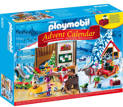 9264 Playmobil Advent Santa's Workshop