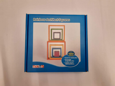 Rainbow Architect Squares