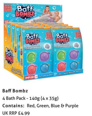 4pk Baff Bombz