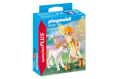 9438 Sun Fairy With Unicorn Foal