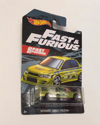 Hot Wheels Fast & Furious Mitsubishi Lancer Evolution