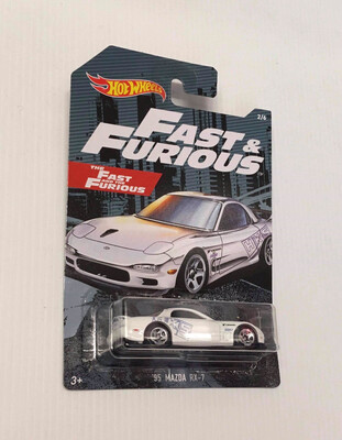 Hot Wheels Fast & Furious 95 Mazda RX-7
