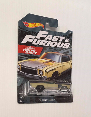Hot Wheels Fast & Furious 70 Monte Carlo