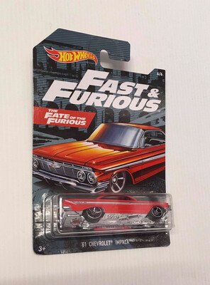 Hot Wheels Fast & Furious 61 Chevrolet Impala