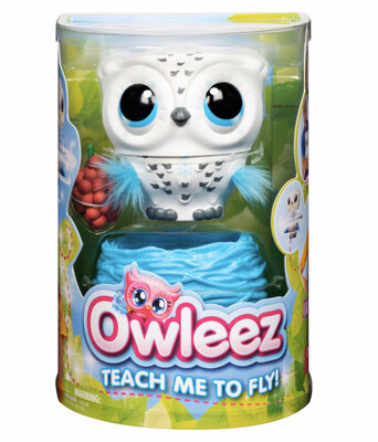 Owleez, Flying Baby Owl Interactive Toy with Lights and Sounds