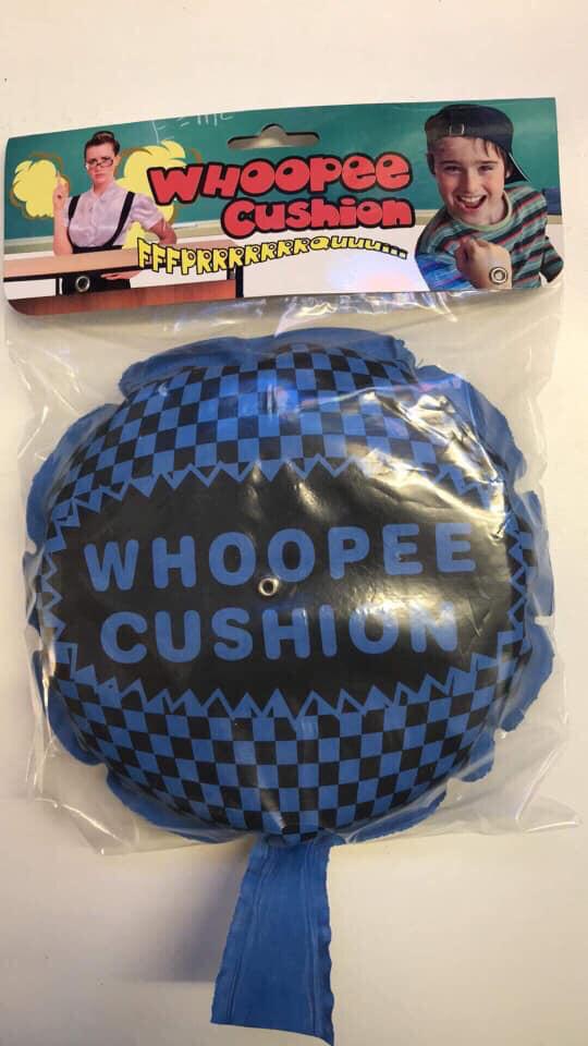 Blue Whoopee Cushion