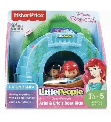 Little People Ariel & Eric Boat