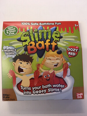 Slime Baff Oozy Red 2 Pack