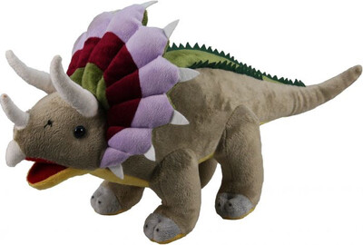 Plush Triceratops 19 Inch