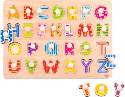 Wooden Alphabet Puzzle 27pcs