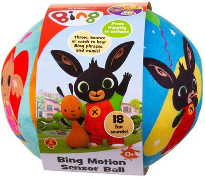 Bing Motion Sensor Ball With Sounds