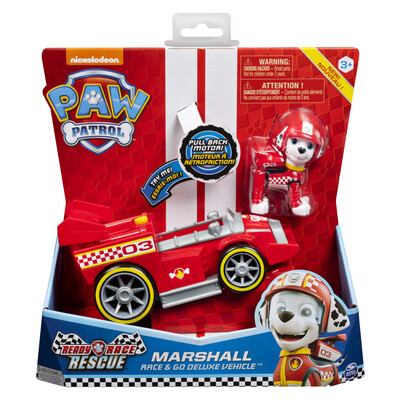 Ready Race Rescue Marshall Deluxe Themed Vehicle