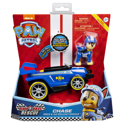 Ready Race Rescue Chase  Deluxe Themed Vehicle