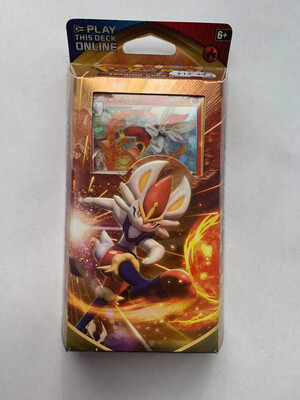 Cinderace Theme Deck Trading Cards