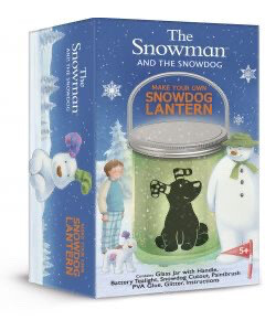 Make Your Own Snowman & Snow Dog Lantern
