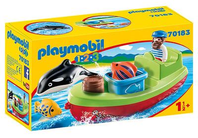 Fisherman & Boat 70183