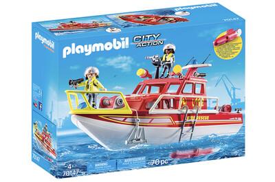 Fire Rescue Boat 70147