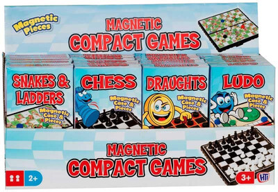 Draughts Magnetic Compact Game