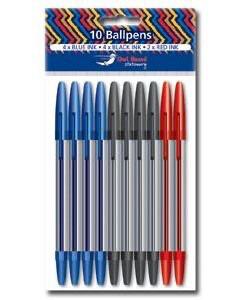 10pk Ball Pens