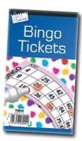 Bingo Tickets 100 Sheet Book