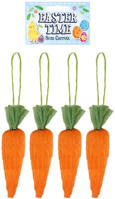 4pk Carrots 8cm