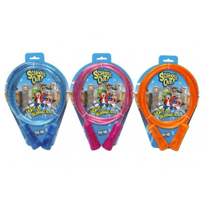 Light Up Skipping Rope ASSORTED COLOURS
