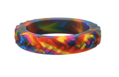 Chewigem Child Rainbow Tread Bangle