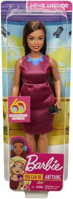 Barbie Journalist 60th Anniversary