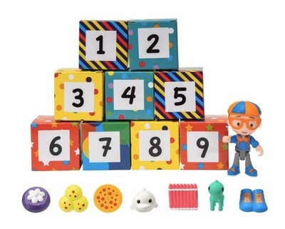 Blippi Surprise Box (2 Types Colours & Numbers)