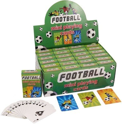 Football Mini Playing Cards