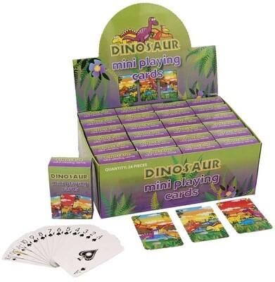 Mini Dinosaur Playing Cards