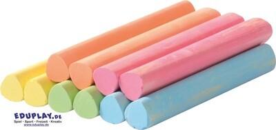 10pk Coloured Chalk
