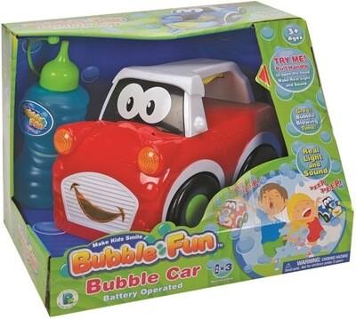 Car Bubble Machine ASSORTED colours