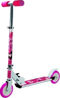 Pink Heart Scooter