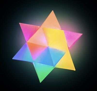 Flashing Prism Bouncing Ball