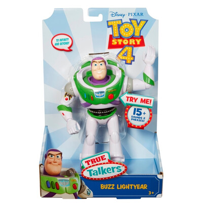 "Toy Story 4 7"" True Talkers Buzz"