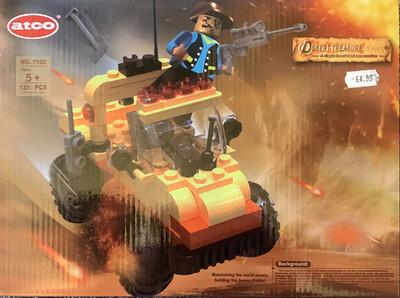 Desert Treasure 123 Pc Brick