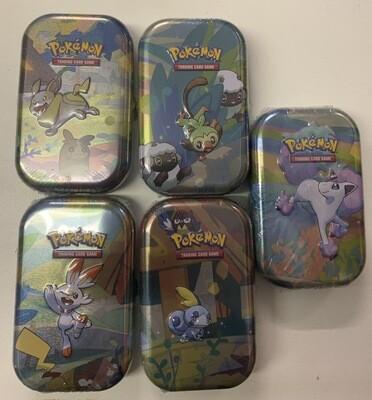 Pokemon Collectors Tin ASSORTED