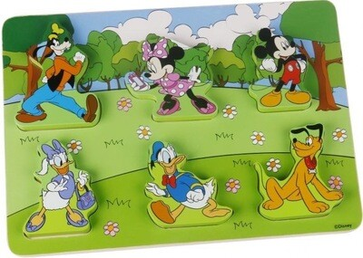 Wooden Mickey & Friends Puzzle