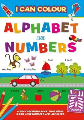 Early Learning ABC 123 Learning Book