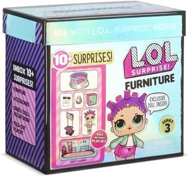 LOL Surprise Furniture Roller Sk8ter